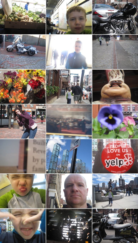 Kid photos of boston