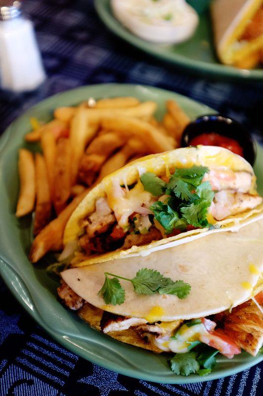 Cactus Jack's Chipotle Chicken Tacos