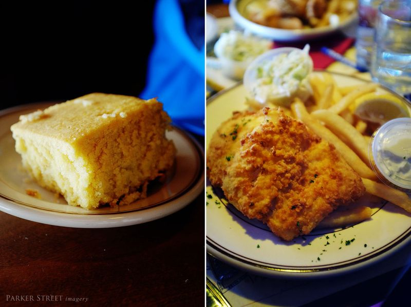 Union oyster house food