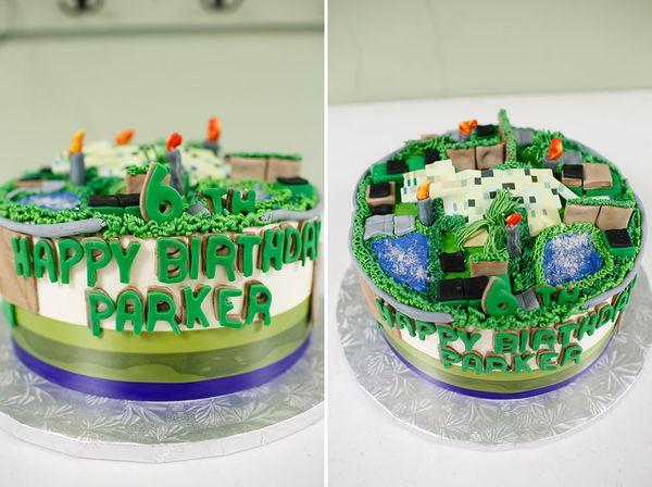 Ocelot cake