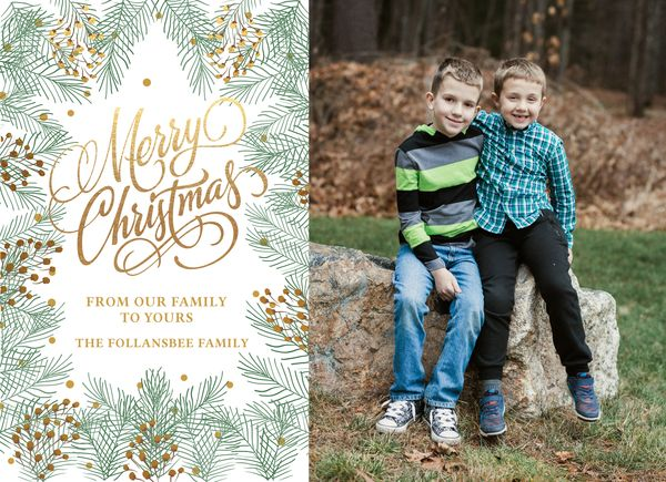 Christmas card 2015 front